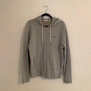 Lacoste hoodie or sweatshirt